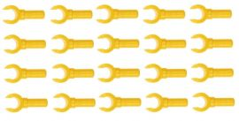 LEGO® 20 (10 Pairs) Yellow Minifig Hands NEW